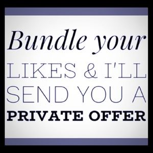 Bundle your ❤️ Likes up with an offer to me!